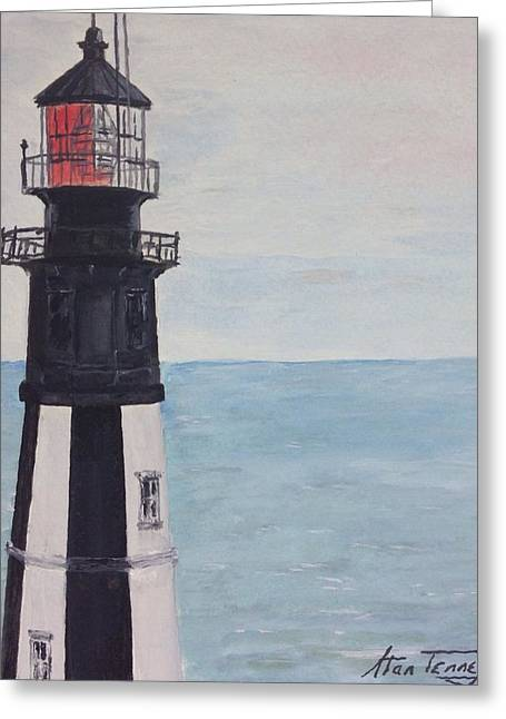 Cape Henry Lighthouse Greeting Card