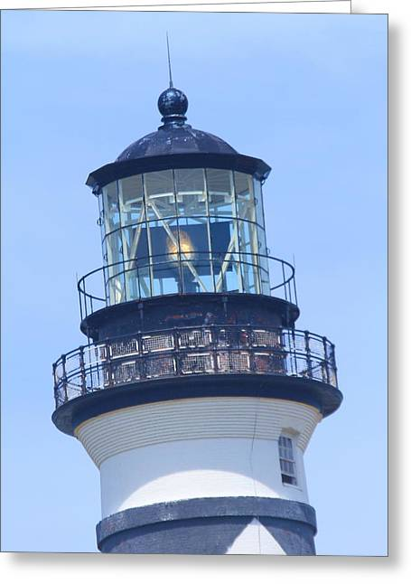 Cape Lookout Light 2014 15 Greeting Card