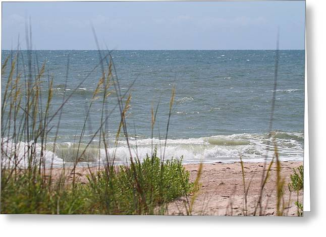 Cape Lookout National Seashore 2 Greeting Card by Cathy Lindsey