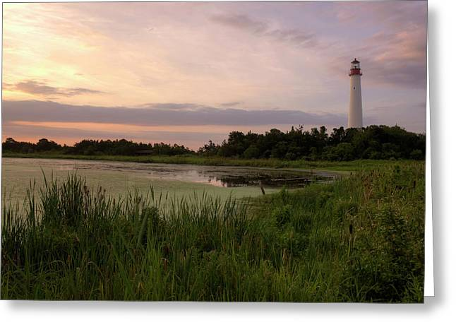 Cape May Lighthouse II Greeting Card