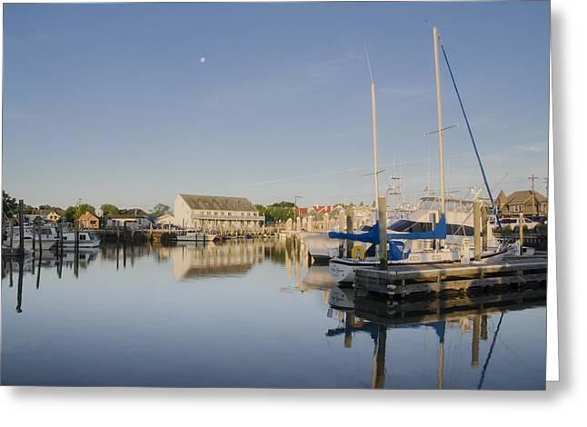 Cape May Marina - New Jersey Greeting Card