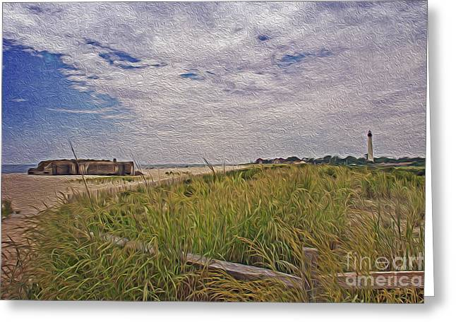 Cape May Nj Summer Time Greeting Card by Tom Gari Gallery-Three-Photography