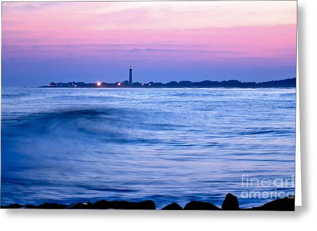 Cape May Seascape Greeting Card
