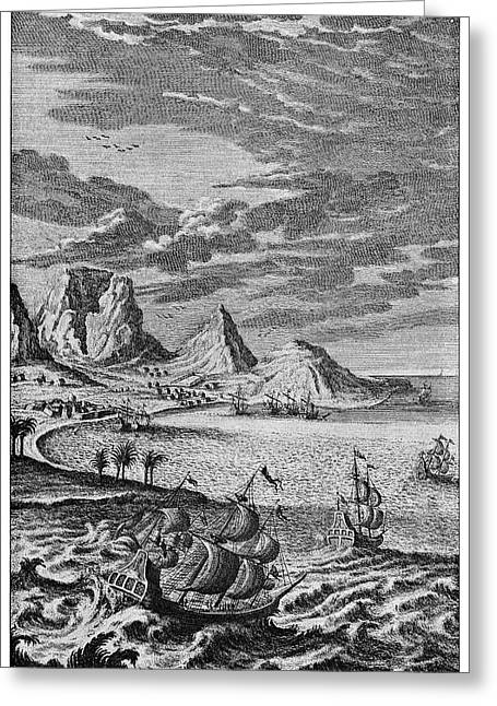 Cape Of Good Hope Greeting Card by Cci Archives