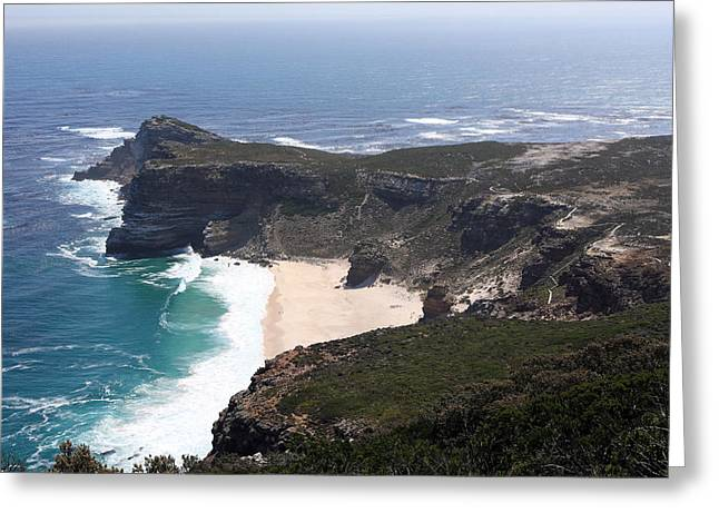 Cape Of Good Hope Coastline - South Africa Greeting Card