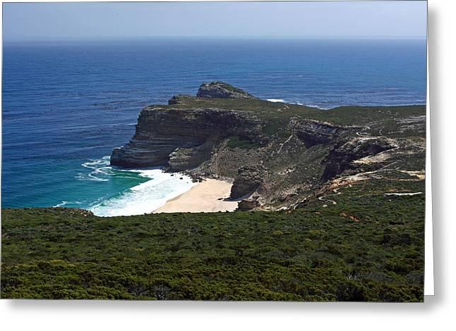 Cape Of Good Hope, South Africa Greeting Card by Aidan Moran