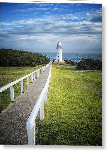 Cape Otway Greeting Card by Kim Andelkovic