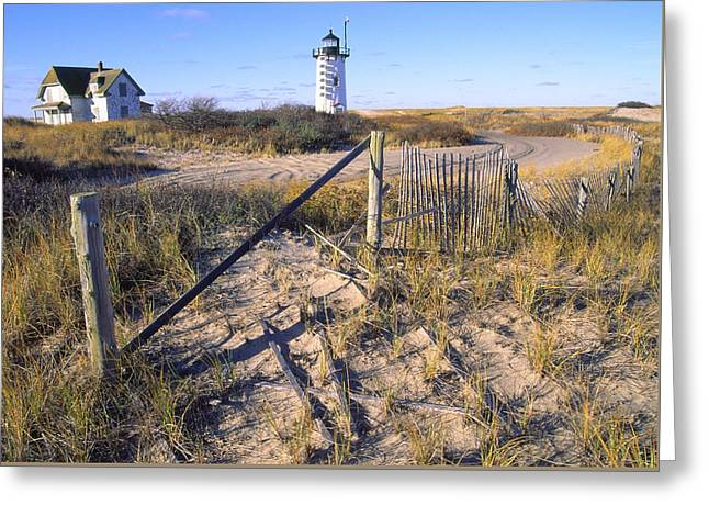 Race Point Lighthouse Cape Cod Greeting Card