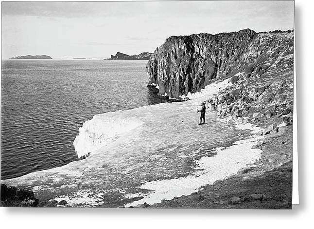 Cape Royds Antarctic Exploration Greeting Card by Scott Polar Research Institute