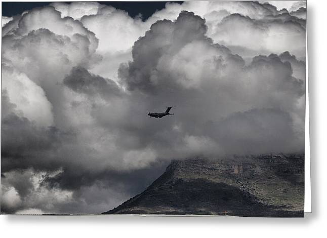 Cape Town Greeting Card by Paul Job