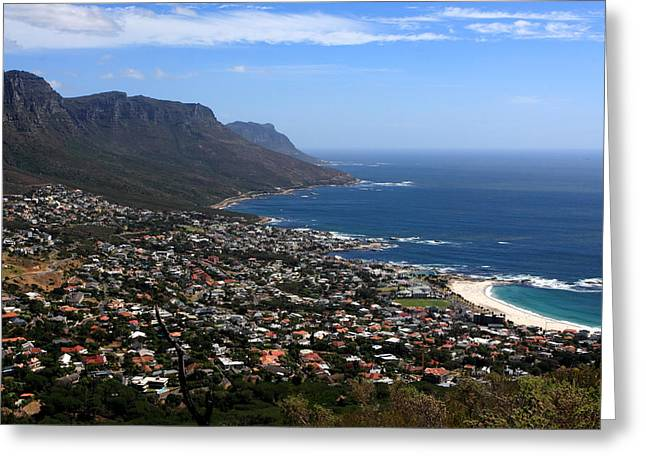 Cape Town - South Africa Greeting Card by Aidan Moran