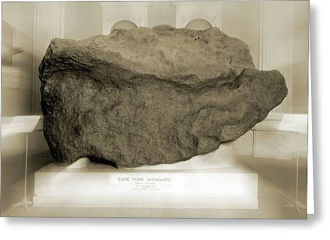 Cape York Meteorite Greeting Card by Detlev Van Ravenswaay