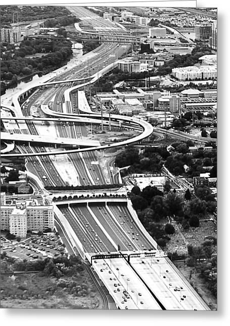 Capital Beltway Greeting Card