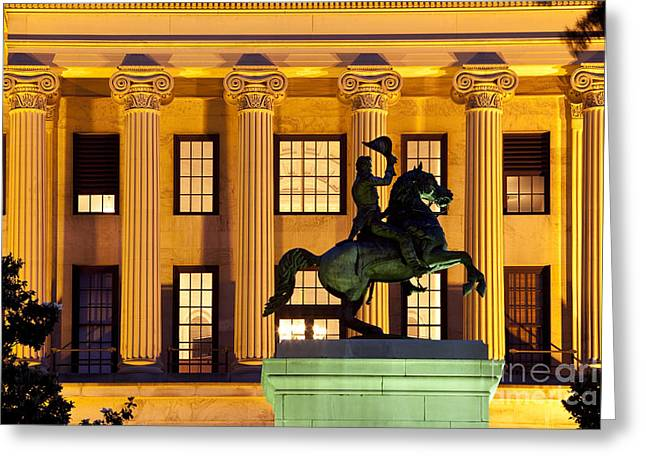 Capital Building Greeting Card by Brian Jannsen
