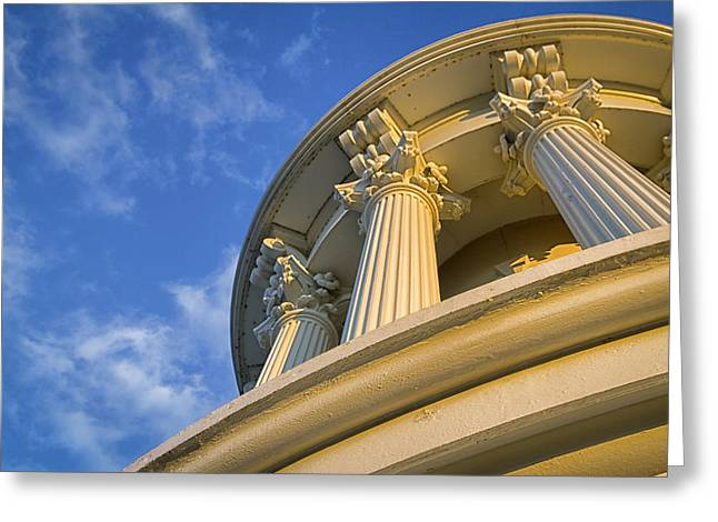 Capitol Columns Greeting Card