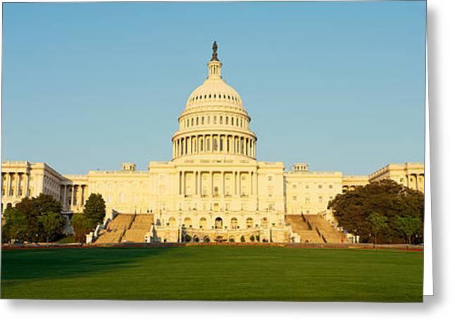 Capitol Hill, Washington, Dc Greeting Card