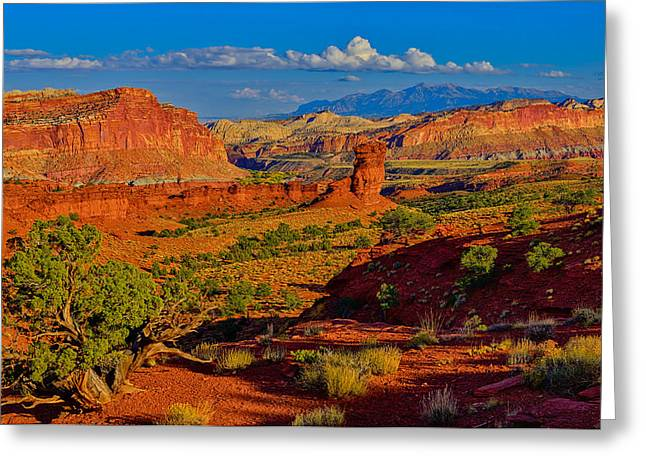 Capitol Reef Landscape Greeting Card