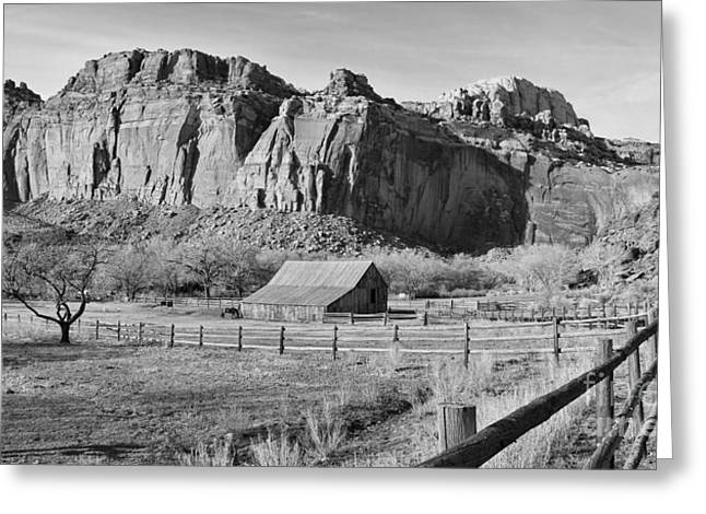 Capitol Reef Ranch 2721 Greeting Card