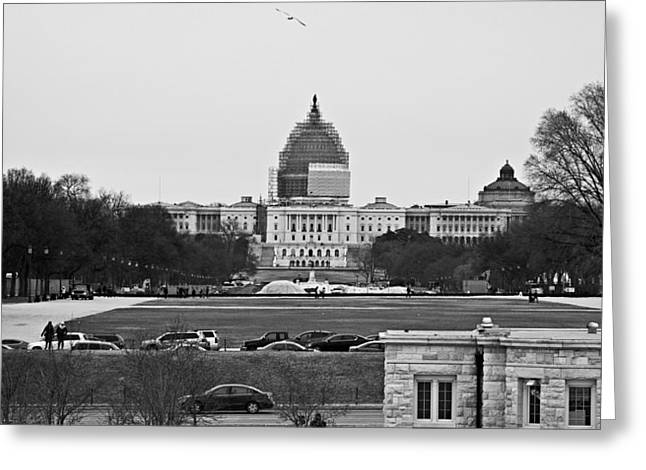Capitol View 2 Greeting Card