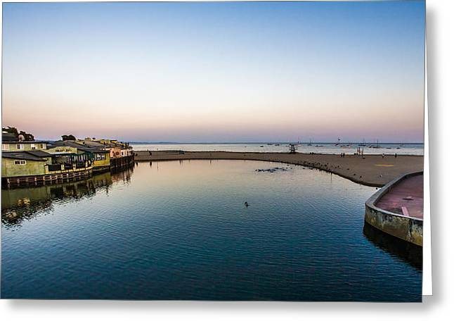 Capitola Greeting Card by Tommy Farnsworth