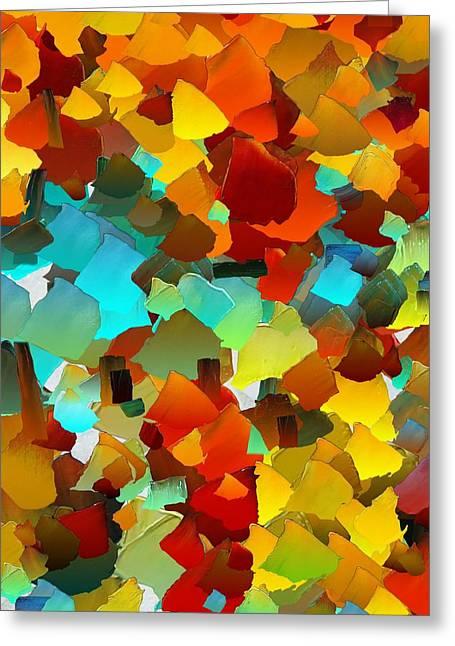 Capixart Abstract 24 Greeting Card
