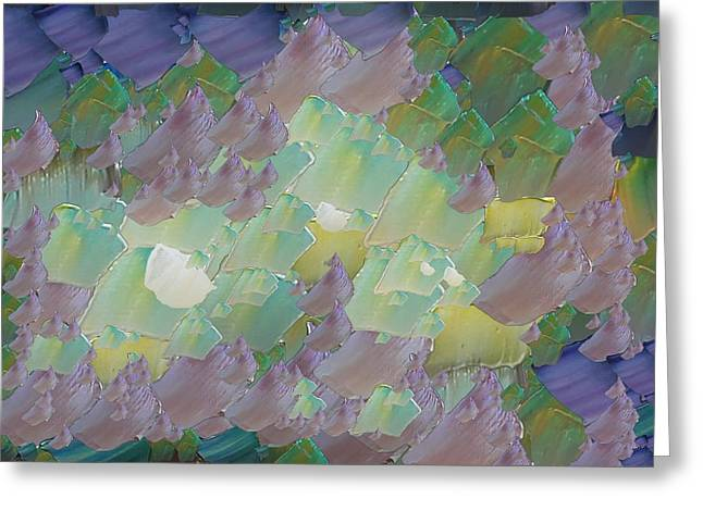 Capixart Abstract 48 Greeting Card by Chris Axford