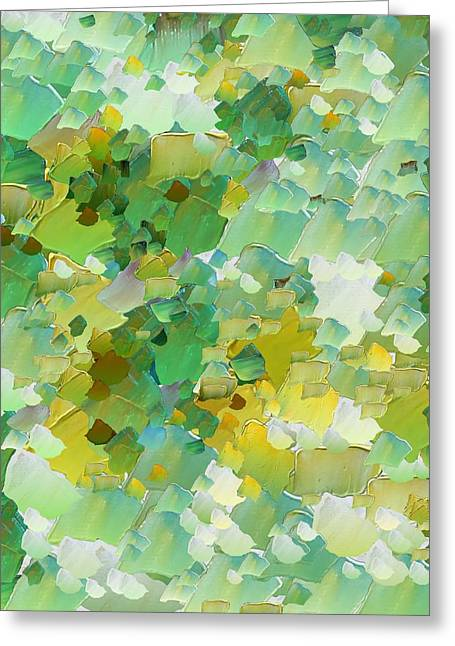 Capixart Abstract 49 Greeting Card by Chris Axford