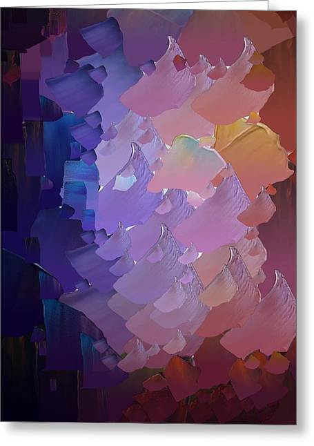 Capixart Abstract 54 Greeting Card by Chris Axford