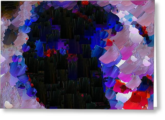 Capixart Abstract 57 Greeting Card by Chris Axford