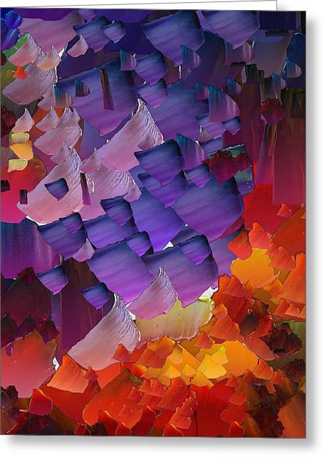 Capixart Abstract 66 Greeting Card by Chris Axford