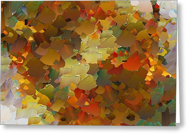 Capixart Abstract 84 Greeting Card by Chris Axford
