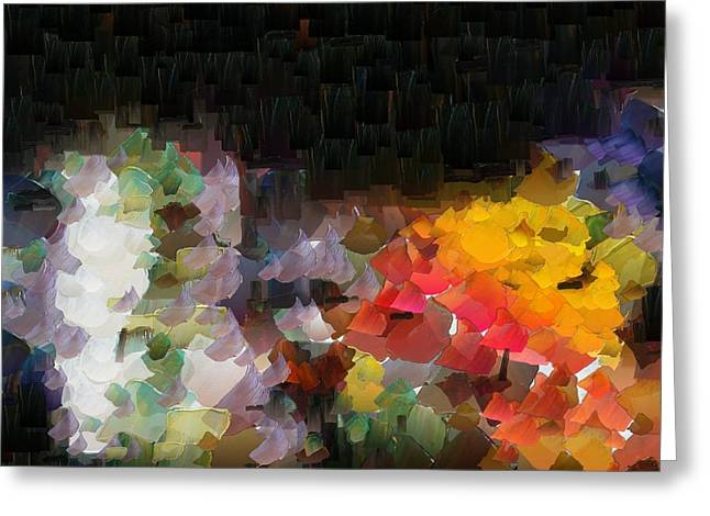 Capixart Abstract 94 Greeting Card by Chris Axford