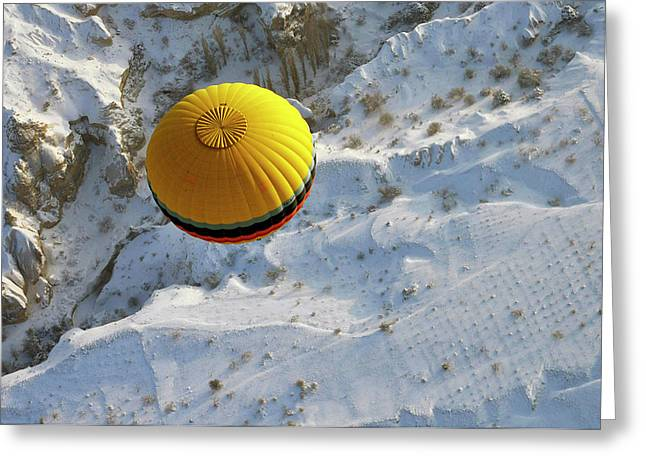 Cappadocia & Balloon Greeting Card