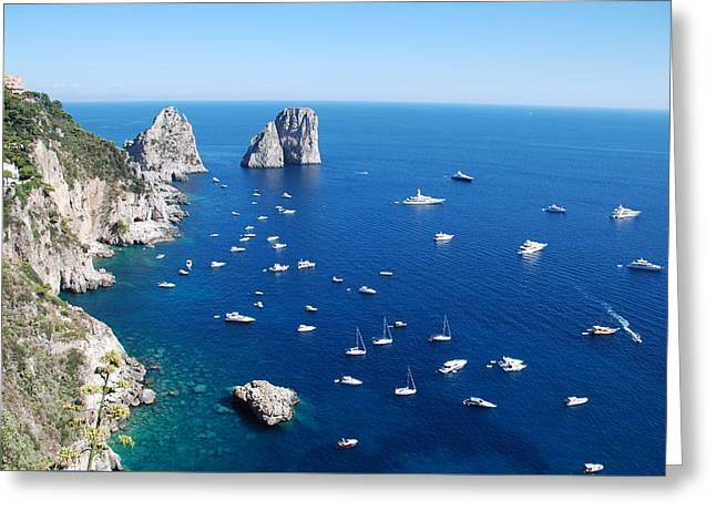 Capri  Greeting Card by Dany Lison