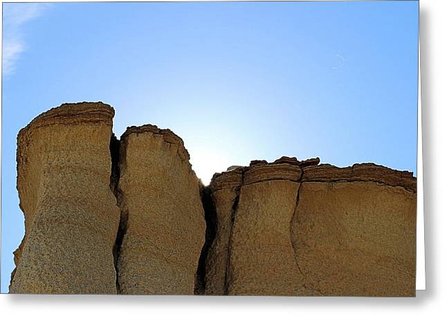 Caprock Butte Greeting Card