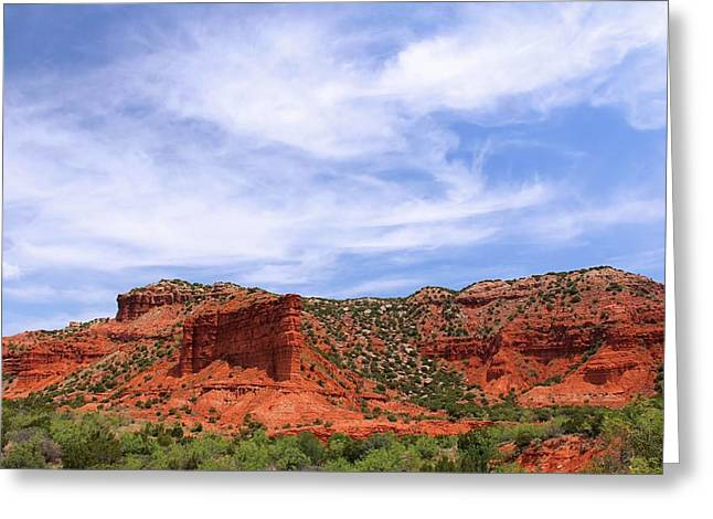 Caprock Canyons State Park Greeting Card by Elizabeth Budd