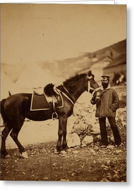 Captain Drysdale, 42nd Regiment, Crimean War Greeting Card