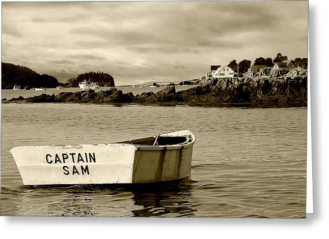 Captain Sam Greeting Card