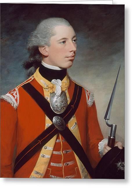 Captain Thomas Hewitt, 10th Regiment Greeting Card