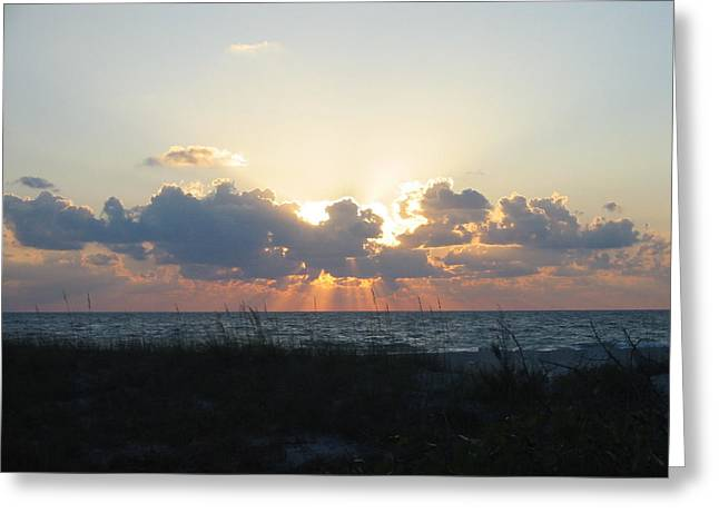Greeting Card featuring the photograph Captiva Island Fl by Jean Marie Maggi