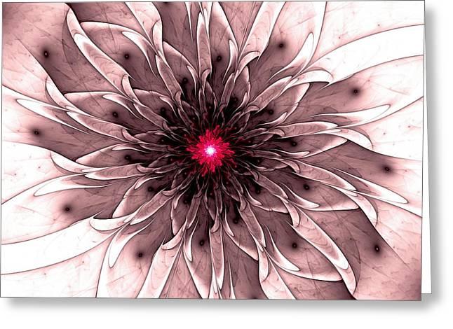 Captivating Greeting Card by Anastasiya Malakhova