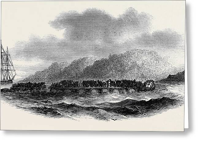 Capture Of A Slave-vessel Greeting Card