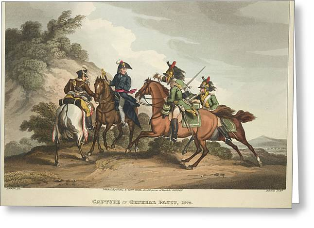 Capture Of General Paget Greeting Card