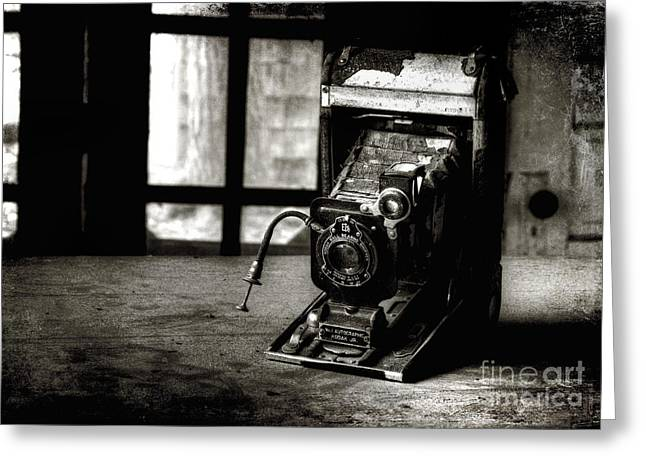 Captured Past Greeting Card by Michael Eingle