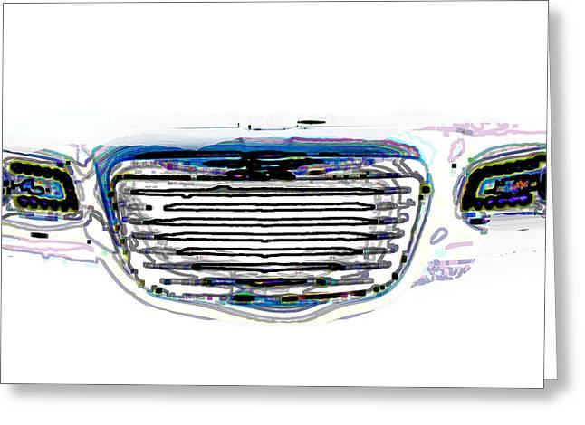 Car Mri Greeting Card by Tom Gari Gallery-Three-Photography