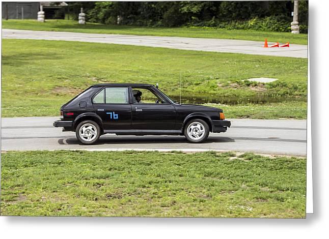 Car No. 76 - 04 Greeting Card