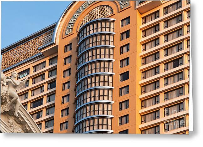 Caravelle Hotel Saigon 01 Greeting Card by Rick Piper Photography