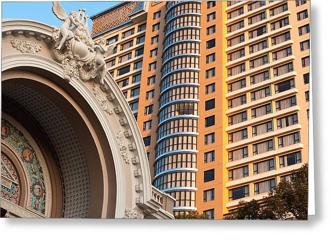Caravelle Hotel Saigon 03 Greeting Card by Rick Piper Photography