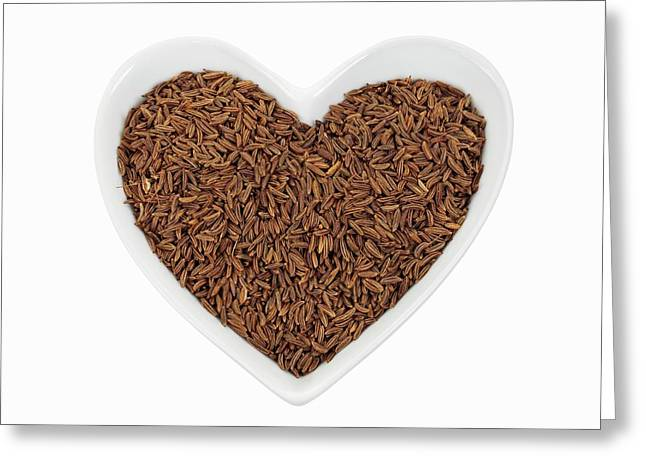 Caraway Seeds Greeting Card