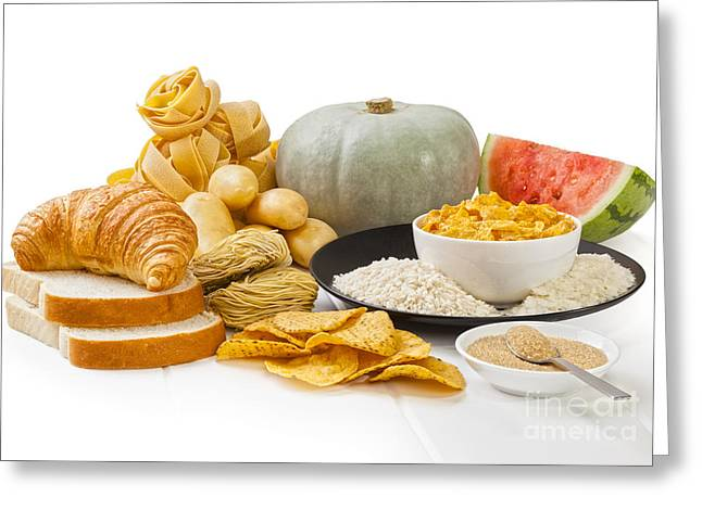 Carbohydrates Greeting Card